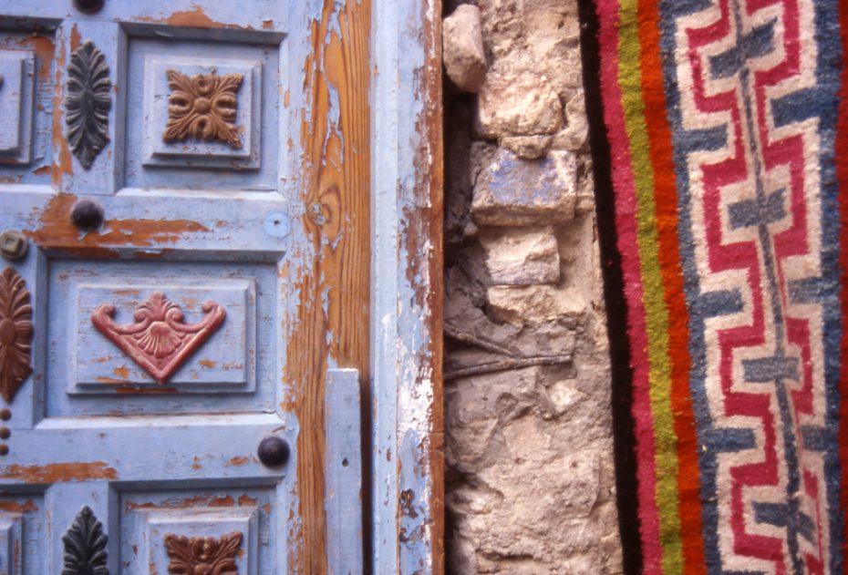 Door and pattern