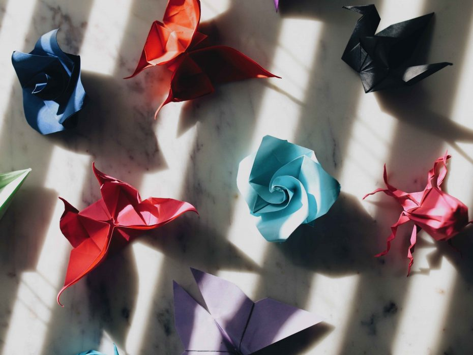 Creating hope with creativity, art, origami